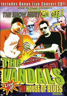 The Vandals - Live at the House of Blues [New DVD] Bonus CD