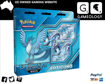 POKEMON TCG Legendary Battle Decks - Articuno