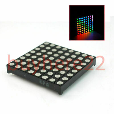 5mm 8*8 8x8 Full Colour RGB LED Dot Matrix Display Module Common Anode NEW UK
