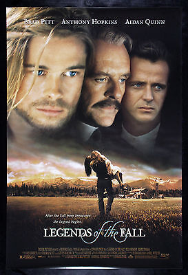 LEGENDS OF THE FALL * CineMasterpieces ORIGINAL MOVIE POSTER 1994