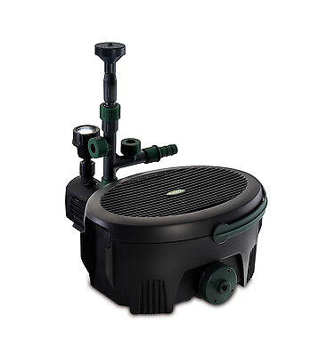 Pond Pump - Blagdon Inpond 5-in-1 Pond Filter 6000. pump 1500l/h, filter and UVC