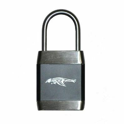 New 2-1/2 in. Steel Shackle Zinc Alloy Biometric Fingerprint Operated Padlock