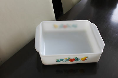 Vintage Fire King Usa Oven Casserole Dish Pyrex No Lid