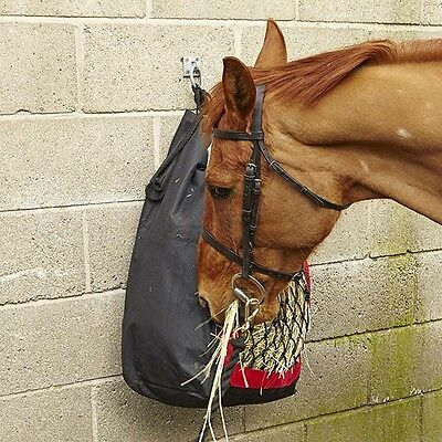 Elico Deluxe Horse Haybag Helps to Reduce Wasted Hay
