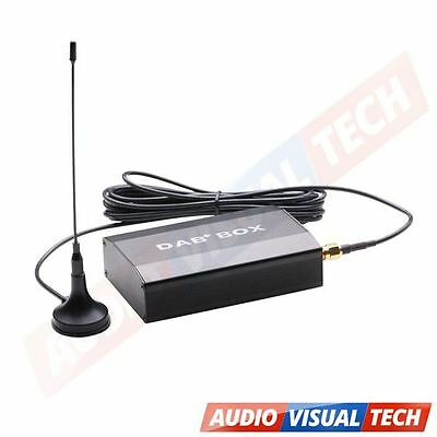 External DAB+ Digital Radio Box for XTRONS Android Car Stereo D766A/D714A/TD719A