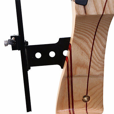 Tiro con arco Recurve Bow Hunting Bow Target Metal Bowsights Accessories nuevo