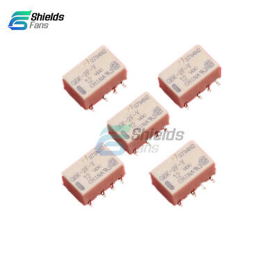 5PCS SMD G6K-2F-Y DC 3V 5V 12V 24V Signal Relay 8PIN for Omron Relay New