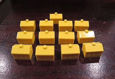 Monopoly Junior 13x - House YELLOW - Replacement part spare