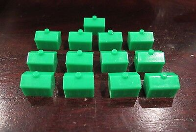 Monopoly Junior 13x - House GREEN - Replacement part spare