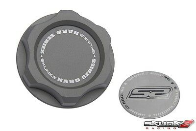 Original Skunk2 Honda Oil Cap Öldeckel Grau 626-99-0072