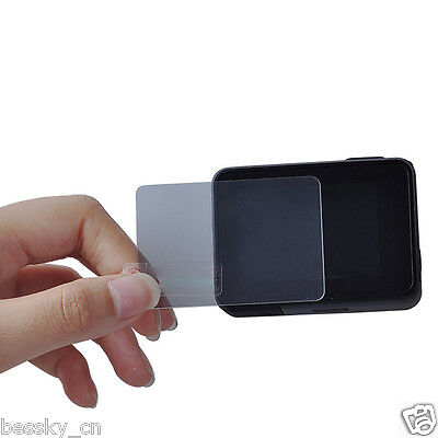 Screen Tempered Glass Protective Film For GoPro Hero 5 Camera Protector + Cloth
