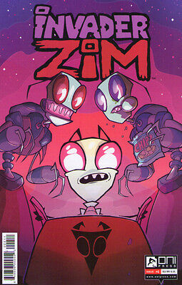 INVADER ZIM (2015) #4 - 1st Print - New Bagged