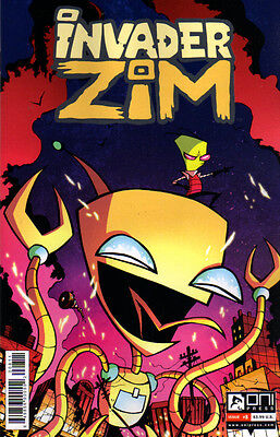 INVADER ZIM (2015) #8 - 1st Print - New Bagged