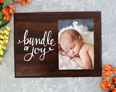 Bundle of Joy Newborn gift new baby gift picture frame baby shower gift