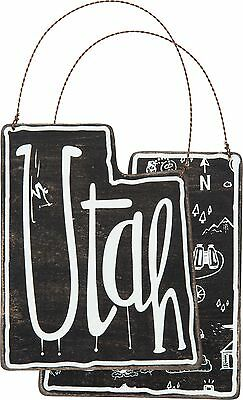 UTAH Primitives by Kathy State Series Christmas Ornament