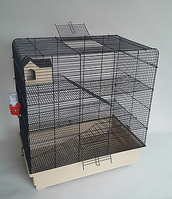 Rat Extra Large Cage Chinchilla Gerbil Rodents Hamster Animals Mouse 3 Floors XL