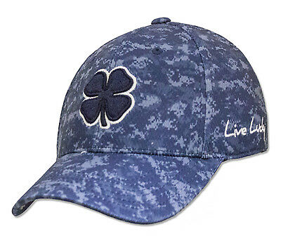 NEW Black Clover BC Freedom #4 Navy/Digital Camouflage Fitted S/M Hat/Cap