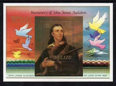 Belize MNH  1985 The 200th Anniversary of the Birth of John J. Audubon M/S