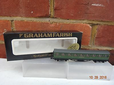 GRAHAM FARISH SOUTHERN RAILWAY 57ft MAINLINE CORRIDOR COACH N GAUGE BOXED.