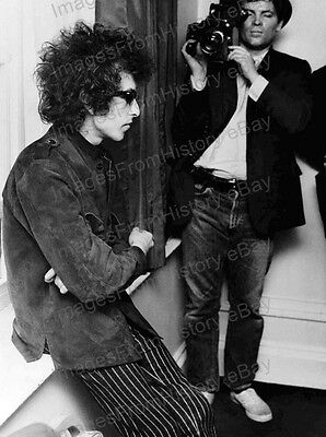 8x10 Print Bob Dylan Press Conference Candid #BD8