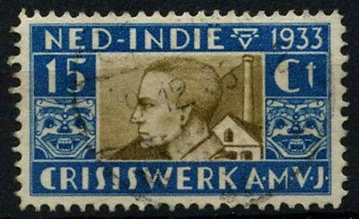 Netherlands Indies 1933 SG#364, 15c Relief Fund Used #D37066