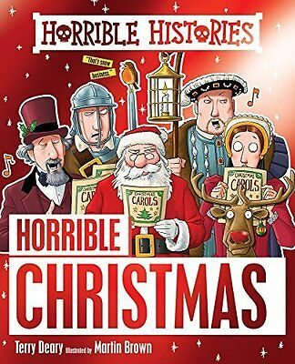 Horrible Christmas (Horrible Histories) by Terry Deary New Paperback Book