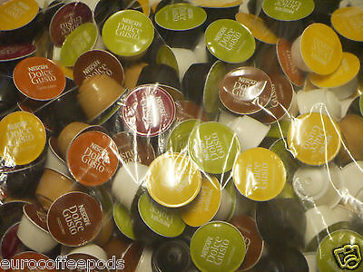 Nescafé Dolce Gusto 6 Flavour Variety Pack (51 Capsules) Or choose your own