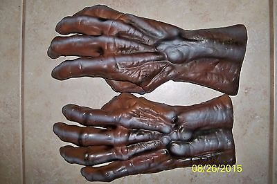Adult Rotting Corpse Zombie Hands Latex Gloves Costume Du960