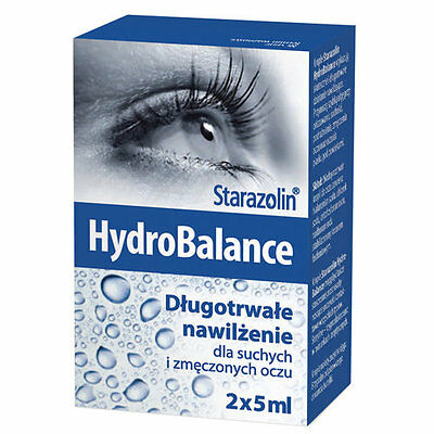 Starazolin HydroBalance, eye drops 2x5ml, Krople do oczu