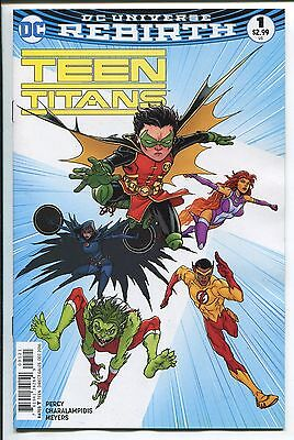 Teen Titans #1 - Rebirth - Chris Burnham Variant Cover - Dc Comics/2016
