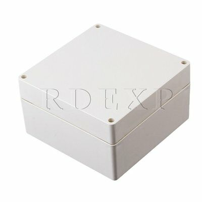 Waterproof Outdoor Plastic Electrical Junction Project Box 160x160x90mm