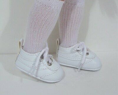 "Debs DK BLUE Saddle Oxford SM Doll Shoes For Sonja Hartmann 18/"" Kidz n Cats"