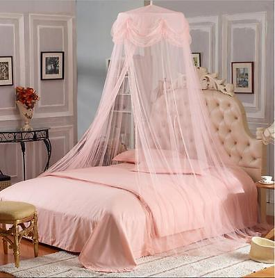 Princess Mosquito Canopy Netting Fly Insect Single Double King Bedding Size