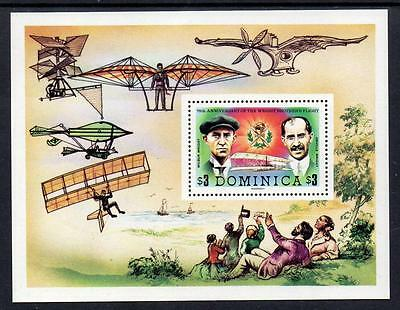 Dominica MNH 1978 The 75th Anniversary of First Powered Flight M/S