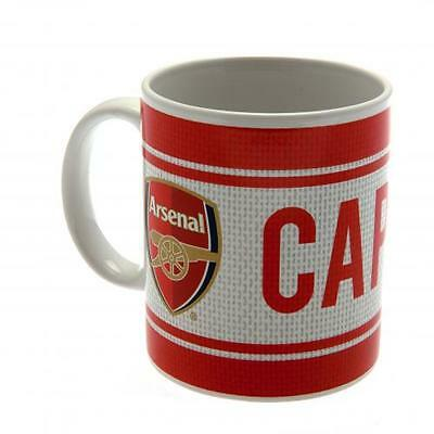 Official Licensed Football Product Arsenal Mug Captain Cup Tea Coffee Fan New