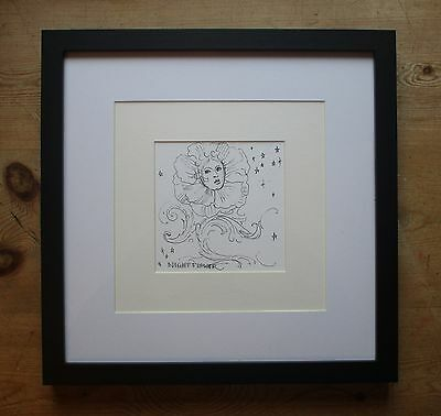 Laurence Llewelyn Bowen-Superb Original Unique Pen & Ink Drawing-Celebrity Art