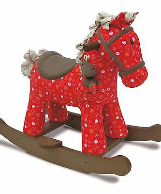 Little Bird Told Me 'Doodle and Crumb' Rocking Horse - Brand New
