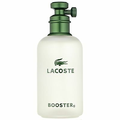NEW Lacoste Booster Eau de Toilette Spray 125ml Fragrance FREE P&P