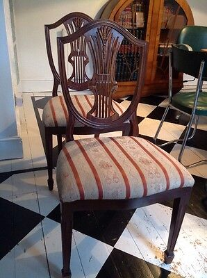 Arts and Crafts dining chair pair - Collection Manchester M19