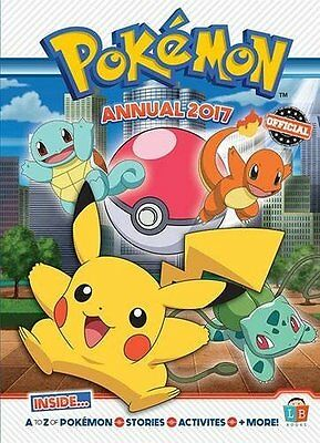 Pokemon Official Annual 2017  by Little Brother Books Limited New Hardback Book