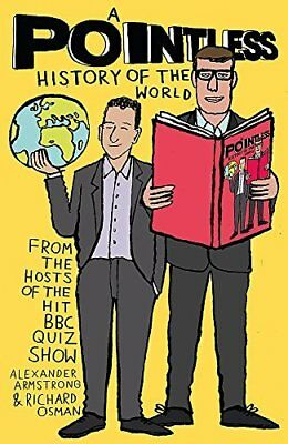 A Pointless History of the World Pointless B by Richard Osman New Hardback Book