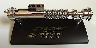 SW-309 Star Wars Lightsaber .45 Master Replicas Luke Skywalker Chrome eBay Excl.