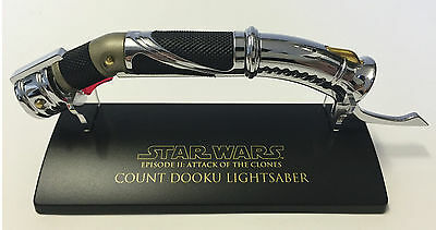 SW-307 Star Wars Lightsaber .45 Master Replicas Count Dooku AOTC