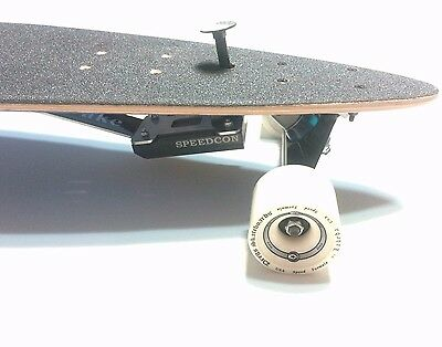 A Rubber Pad Longboard(Top Mount) Brake + Mix Pads (WORLDWIDE FREE SHIPPING)