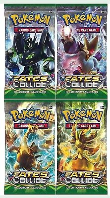 Pokémon XY Fates Collide - 20 Trading Card (2 Booster Packs) New & Sealed