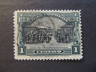 1910 - Chile - Oath Of Independence - Scott 83 A17 1C (11)