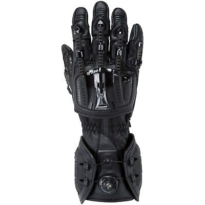 Knox Handroid Motorcycle Gloves Hand Armour Summer Motorbike Race Sports - Black
