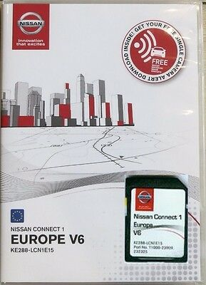 Nissan Connectez 1 Carte Sd Map 2016 V.6 Europe Lcn1 Ke288-Lcn1E15 Neuf