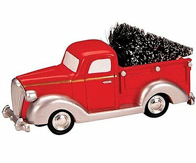 Lemax Table Accent New 84837 Pick Up Truck Tree  Polyresin 2016