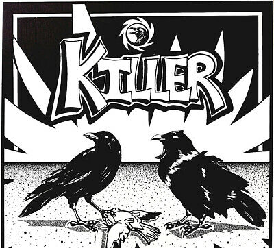 Killer Crows - Iconic - Image By Michael Dole (Signed)  1980's Poster Scarce